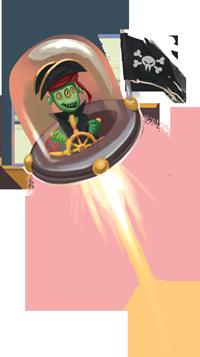 Pirate de l'espace
