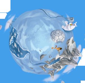 planète glace Cosmic Factory