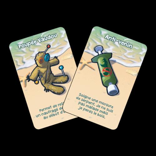 2 cartes à usage unique Galerapagos